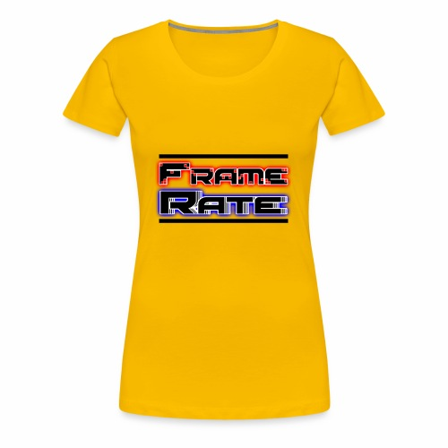 TFRLogoWhite AlphaNoCircle - Women's Premium T-Shirt