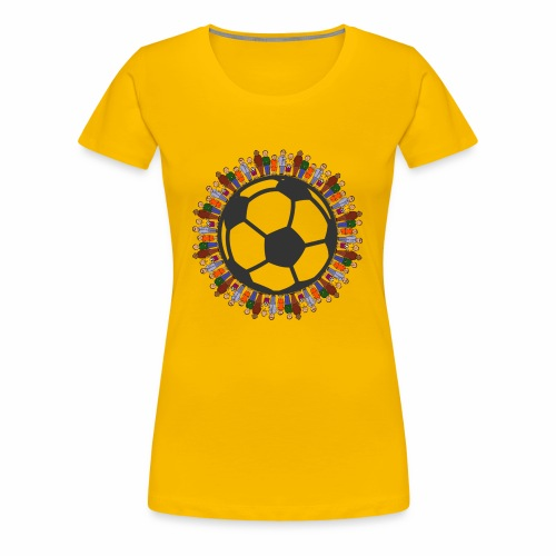 One world one sport - Frauen Premium T-Shirt
