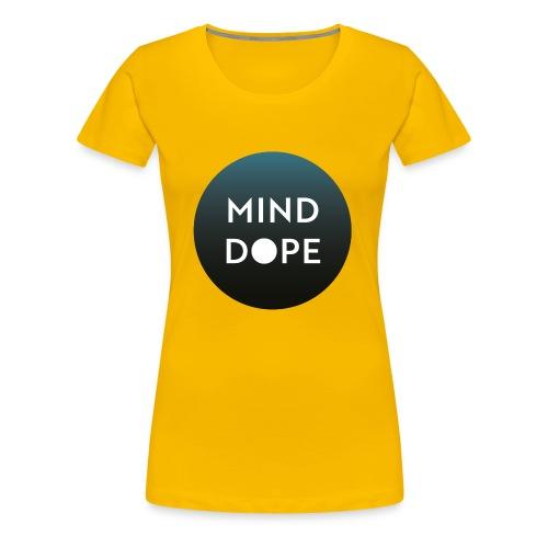 Logo minddope.pictures - keine Kontur - Frauen Premium T-Shirt