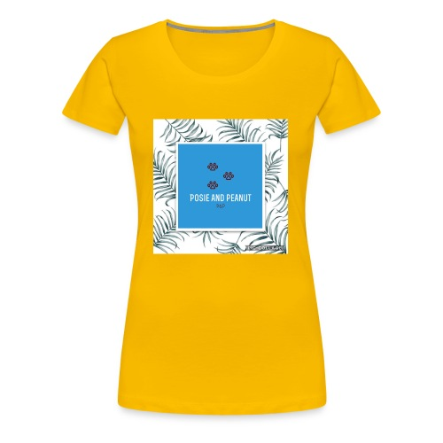 palm pooch design - Women's Premium T-Shirt