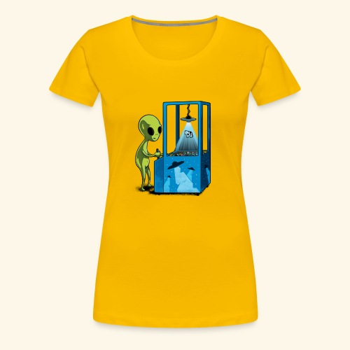 Naolito abduction II - Frauen Premium T-Shirt