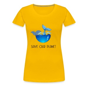 Save our planet - Women's Premium T-Shirt