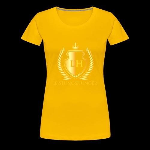 Leistungshunger Basic - Frauen Premium T-Shirt