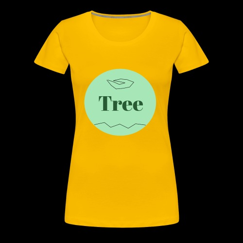 Tree1 - Frauen Premium T-Shirt