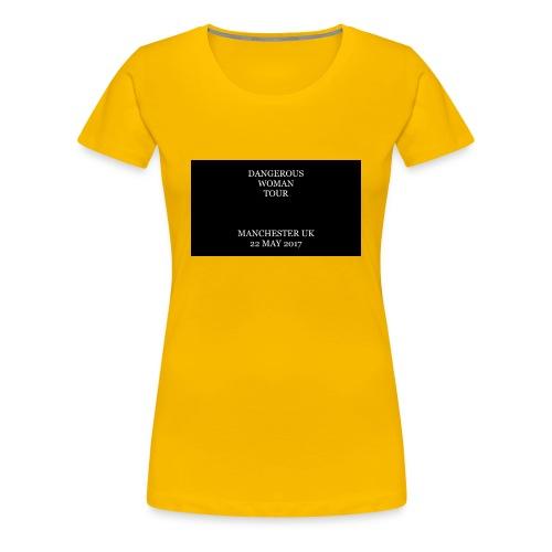 Dangerous Woman Tour Merch - Women's Premium T-Shirt