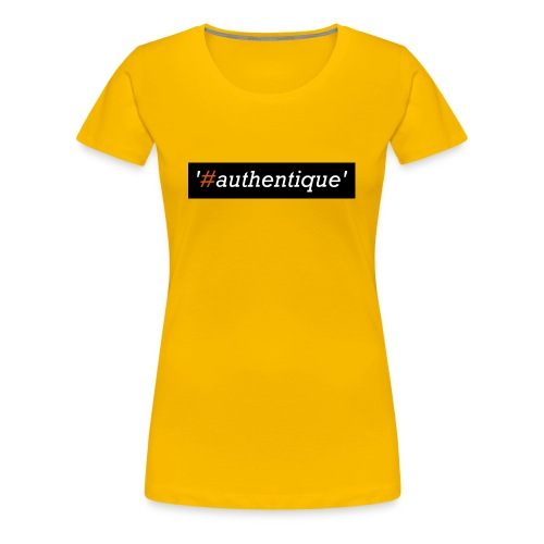 authentique - Women's Premium T-Shirt
