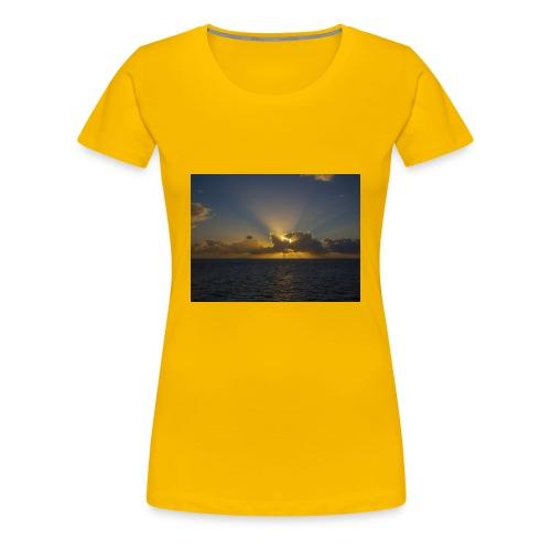 SUNSET - Camiseta premium mujer