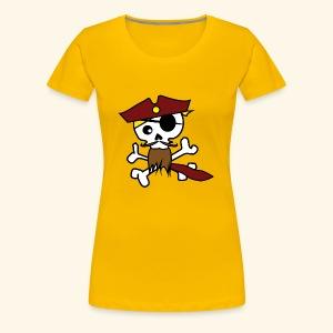 KavalierPirat Captain Logo - Frauen Premium T-Shirt