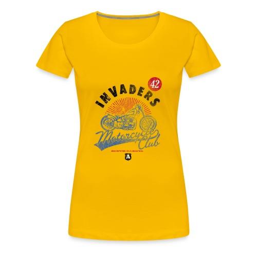 DownloadT-ShirtDesigns-com-2121724 Invaders - Women's Premium T-Shirt