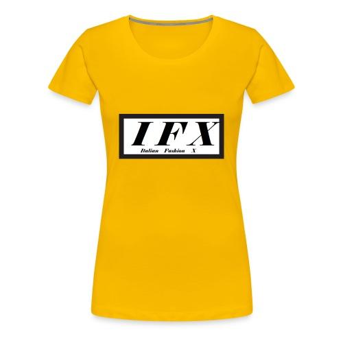 Logo Hoodie 2[IFX] - Frauen Premium T-Shirt