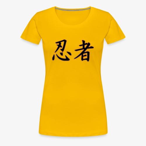 Logo officiel Ninja - T-shirt Premium Femme
