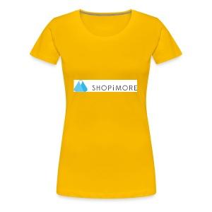 Logo SHOPiMORE - Frauen Premium T-Shirt