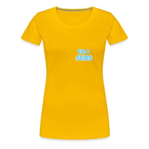 100 subs merch - Women's Premium T-Shirt