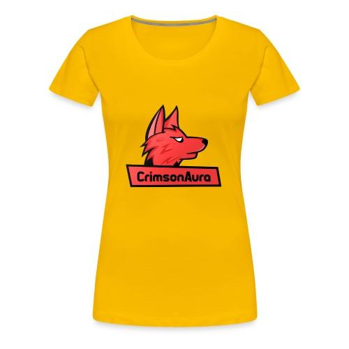 CrimsonAura Logo Merchandise - Women's Premium T-Shirt