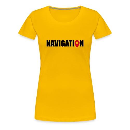 NAVIGATION - T-shirt Premium Femme