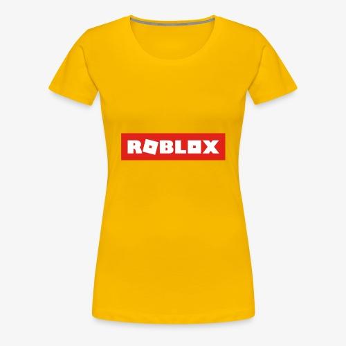 Roblox Shirt - Women's Premium T-Shirt