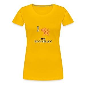 I Love The Seychelles - Women's Premium T-Shirt