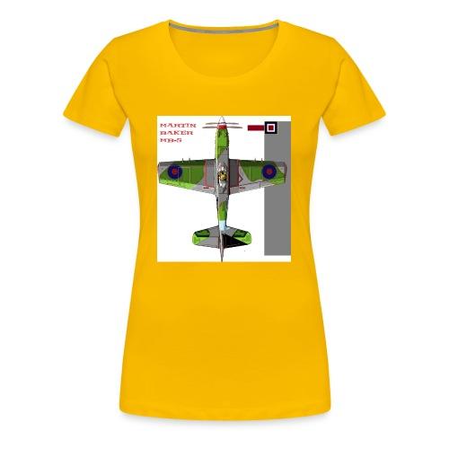 Martin Baker MB 5 - Women's Premium T-Shirt