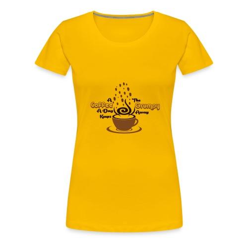 Coffee A Day - Women's Premium T-Shirt