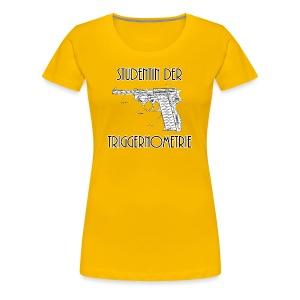 Studentin der Triggernometrie - Frauen Premium T-Shirt