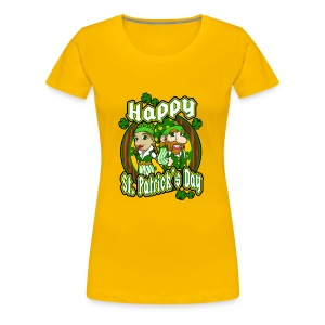 St- Patricks Day couple holiday gift surprise - Frauen Premium T-Shirt