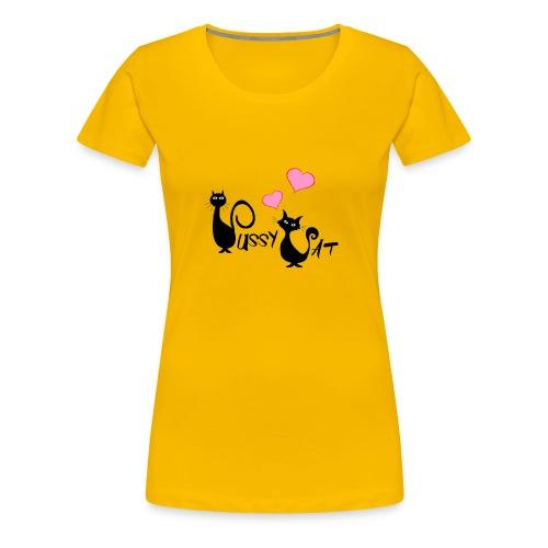 Pussy Cat 2 - Frauen Premium T-Shirt