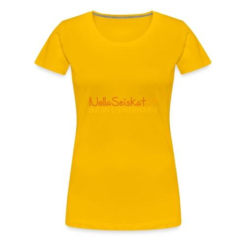 07-oulun-steiner-koulu-logo-merkki - Naisten premium t-paita