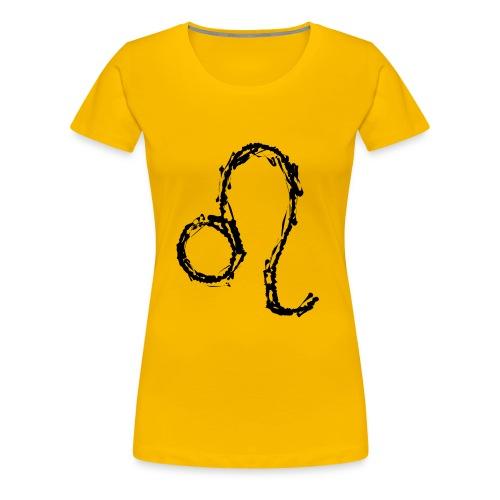 Sternzeichen: Löwe - Frauen Premium T-Shirt