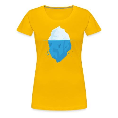 Iceberg - Maglietta Premium da donna