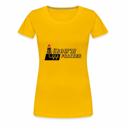 Growth Fracker - Women's Premium T-Shirt
