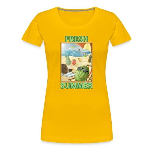 Fruit Fresh Summer - Maglietta Premium da donna