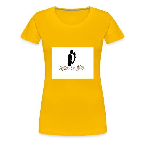 wedding - Camiseta premium mujer
