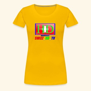 SWIZZ HD TV - Frauen Premium T-Shirt
