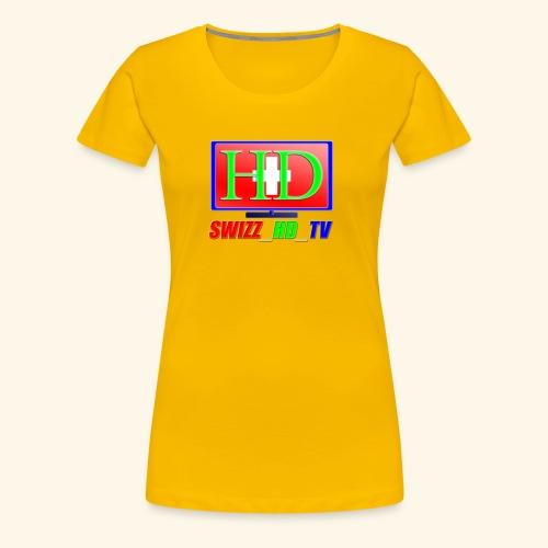 SWIZZ HD TV - Frauen Premium T-Shirt