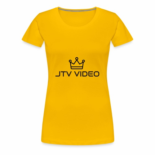 JTV VIDEO - Women's Premium T-Shirt