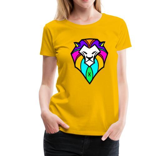 Safari Colorz - Maglietta Premium da donna