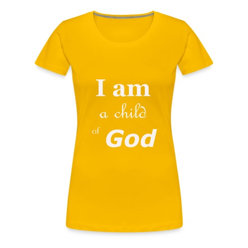 Child of God - Vrouwen Premium T-shirt