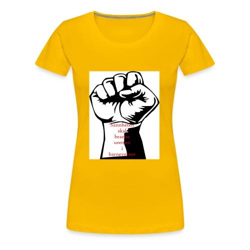 Knytteneve - Premium T-skjorte for kvinner