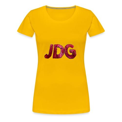 JustDanielGames - Vrouwen Premium T-shirt