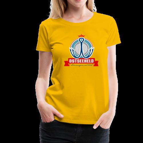 geweihbär Ostseeheld - Frauen Premium T-Shirt