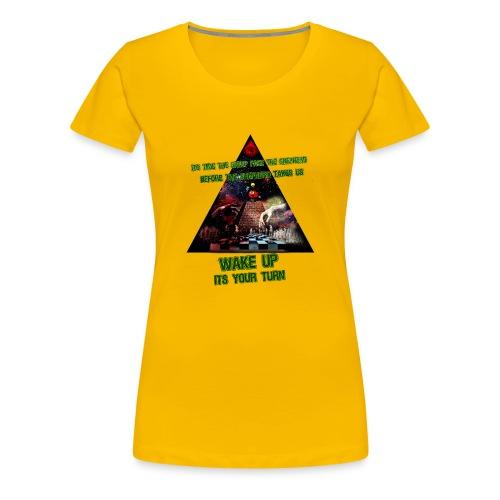 lys illuminati chess - Dame premium T-shirt