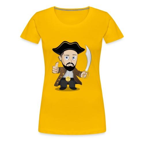 KaeptnTV Bild - Frauen Premium T-Shirt