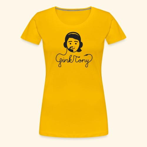 Gink Tony Merchandise 2 - Frauen Premium T-Shirt