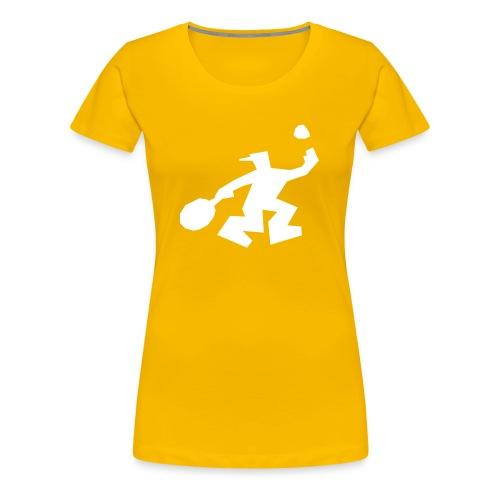 Tennis - Frauen Premium T-Shirt