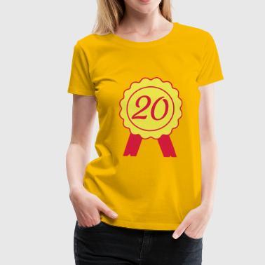 20 2541614 15491522 boucle - T-shirt Premium Femme