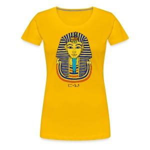 Pharao Tutanchamun - Frauen Premium T-Shirt