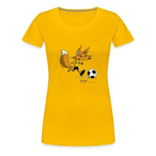 Valmy mascotte - T-shirt Premium Femme