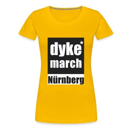 dyke*march Nürnberg - Frauen Premium T-Shirt