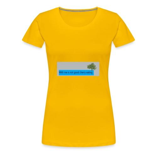 Cherry - Frauen Premium T-Shirt