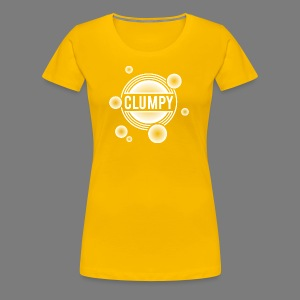 Clumpy halos white - Frauen Premium T-Shirt